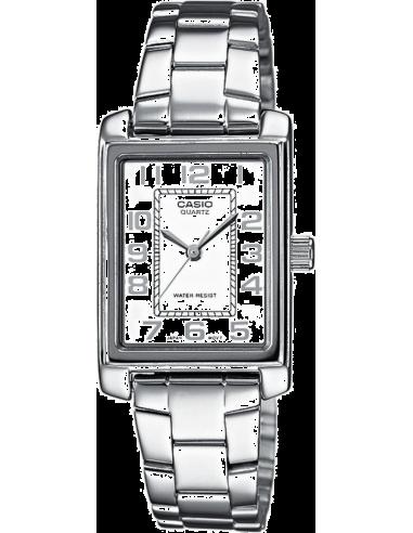 Chic Time | Montre Femme Casio Collection LTP-1234D-7BEF Argent  | Prix : 34,90€