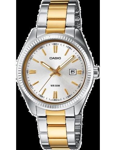 Chic Time | Montre Femme Casio Collection LTP-1302SG-7AVEF Argent  | Prix : 49,99€