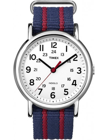 Chic Time | Montre Mixte Timex Indiglo Weekender T2N747  | Prix : 48,90 €