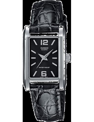 Chic Time   Montre Femme Casio Collection LTP-1235L-1AEF Noir    Prix : 49,00€