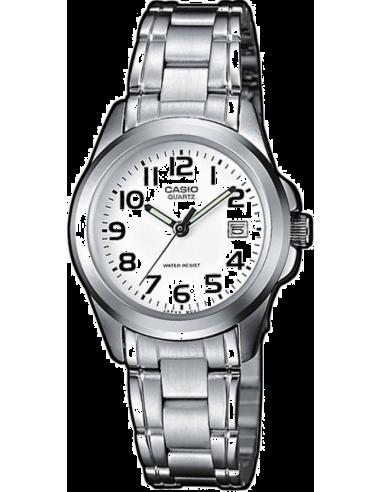 Chic Time | Montre Femme Casio Collection LTP-1259D-7BEF Bracelet Acier Inoxydable  | Prix : 28,90€