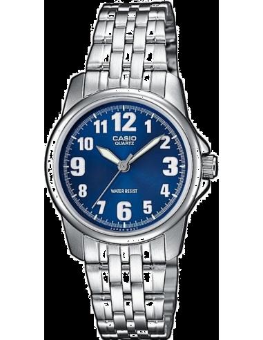 Chic Time | Montre Femme Casio Collection LTP-1260D-2BEF Argent  | Prix : 22,90€