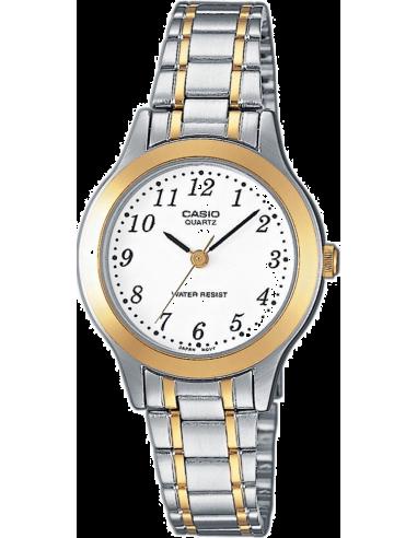 Chic Time   Montre Femme Casio Collection LTP-1263G-7BEF Bracelet Acier Inoxydable    Prix : 33,90€
