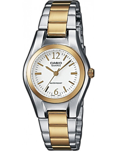 Chic Time | Montre Femme Casio Collection LTP-1280SG-7AEF Argent  | Prix : 38,90 €