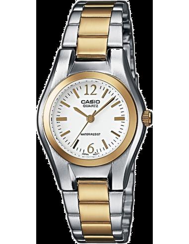Chic Time   Montre Femme Casio Collection LTP-1280SG-7AEF Argent    Prix : 38,90€