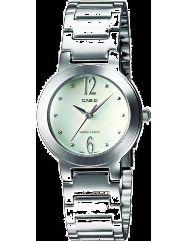 Chic Time | Montre Femme Casio Collection LTP-1282D-7AEF Bracelet Acier Inoxydable  | Prix : 88,90€