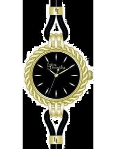 Chic Time | Montre Femme Lolita Lempicka 9500905 Noire Lunette tressée  | Prix : 34,97€