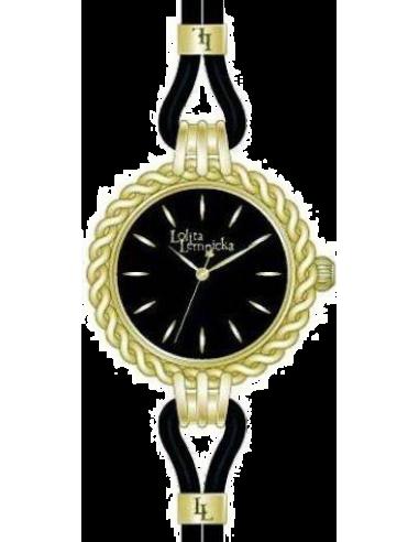 Chic Time | Montre Femme Lolita Lempicka 9500905 Noire Lunette tressée  | Prix : 29,97€
