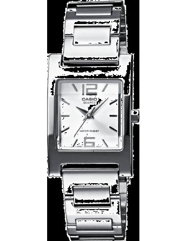 Chic Time | Montre Femme Casio Collection LTP-1283D-7AEF Argent  | Prix : 37,89€