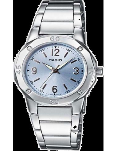Chic Time | Montre Femme Casio Collection LTP-1301D-2AEF Bracelet Acier Inoxydable  | Prix : 47,90€