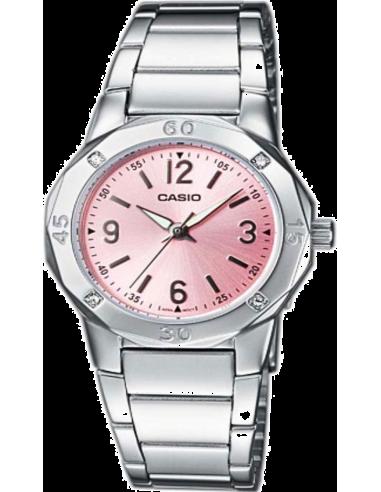 Chic Time   Montre Femme Casio Collection LTP-1301D-4AEF Bracelet Acier Inoxydable    Prix : 50,00€