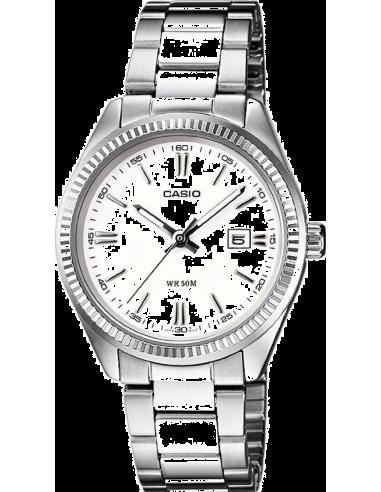 Chic Time | Montre Femme Casio Collection LTP-1302D-7A1VEF Argent  | Prix : 42,90€