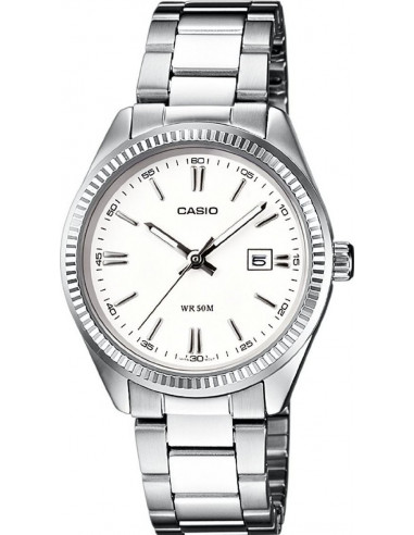Chic Time | Montre Femme Casio Collection LTP-1302D-7A1VEF Argent  | Prix : 42,90 €