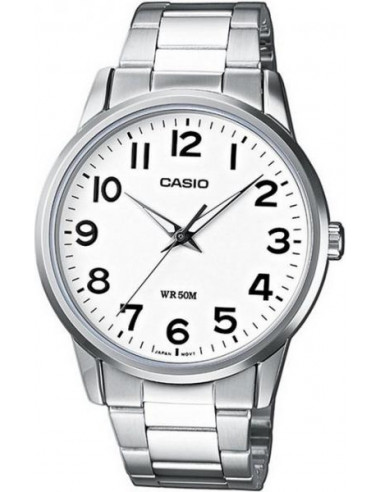 Chic Time | Montre Femme Casio Collection LTP-1303D-7BVEF Argent  | Prix : 35,10 €