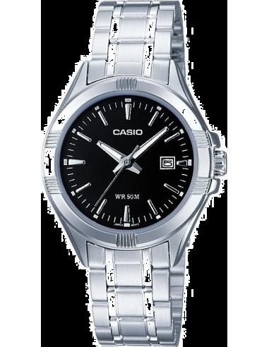 Chic Time | Montre Femme Casio Collection LTP-1308D-1AVEF Argent  | Prix : 31,99€