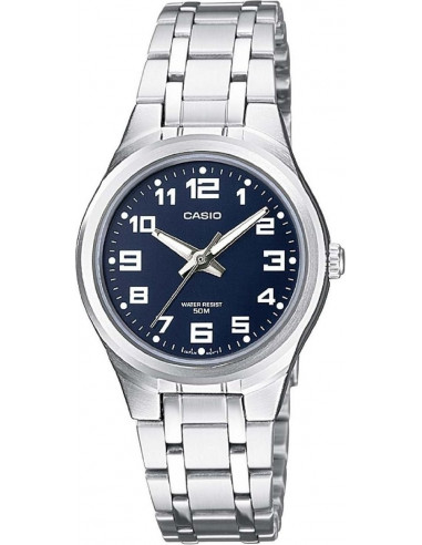 Chic Time | Montre Femme Casio Collection LTP-1310D-2BVEF Argent  | Prix : 37,10 €