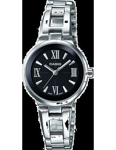 Chic Time | Montre Femme Casio Collection LTP-1340D-1AEF Argent  | Prix : 49,99€