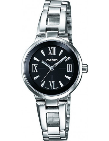 Chic Time | Montre Femme Casio Collection LTP-1340D-1AEF Argent  | Prix : 49,99 €