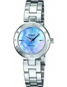 Chic Time | Montre Femme Casio Collection LTP-1342D-2CEF Argent  | Prix : 48,95 €