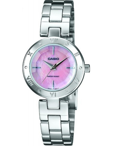 Chic Time | Montre Femme Casio Collection LTP-1342D-4CEF Argent  | Prix : 84,00 €
