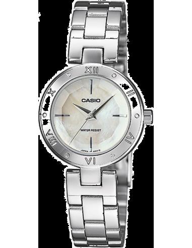 Chic Time | Montre Femme Casio Collection LTP-1342D-7CEF Bracelet Acier Inoxydable  | Prix : 74,90€