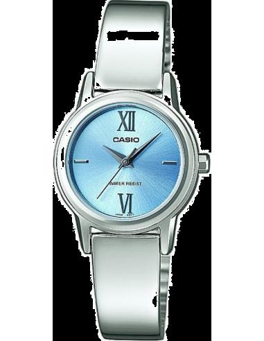 Chic Time | Montre Femme Casio Collection LTP-1343D-2CEF Bracelet Acier Inoxydable  | Prix : 46,90€