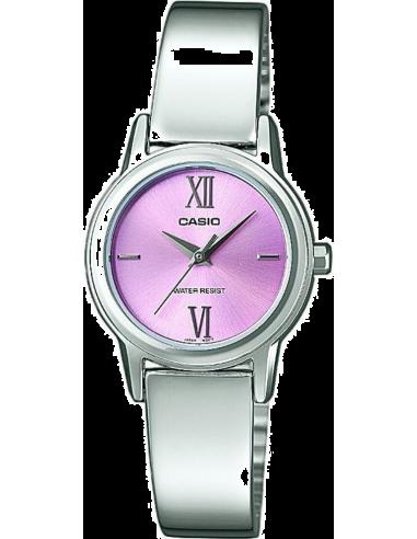Chic Time | Montre Femme Casio Collection LTP-1343D-4CEF Argent  | Prix : 55,90€