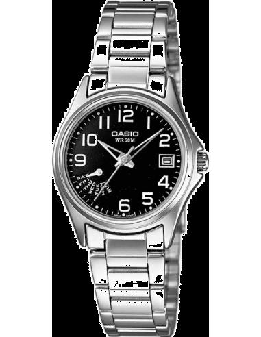 Chic Time   Montre Femme Casio Collection LTP-1369D-1BVEF Argent    Prix : 62,00€