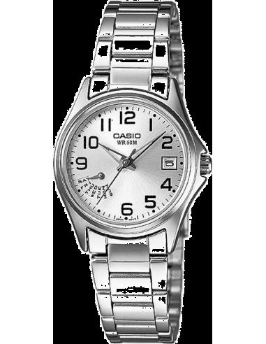 Chic Time   Montre Femme Casio Collection LTP-1369D-7BVEF Argent    Prix : 71,10€