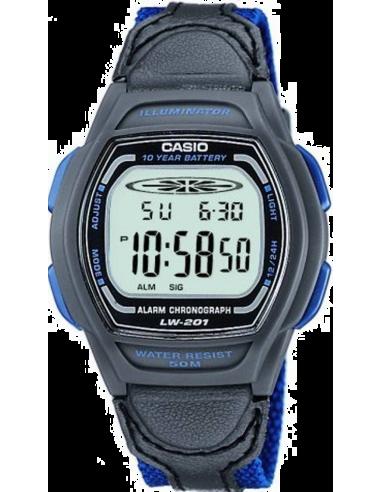 Chic Time | Montre Mixte Casio Collection LW-201B-2AVEF Bleu  | Prix : 27,90€