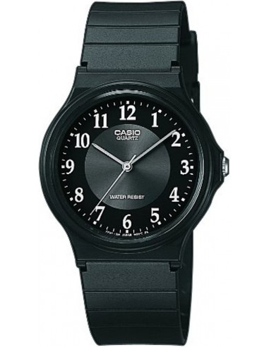 Chic Time | Montre Homme Casio Collection MQ-24-1B3LLEF Noir  | Prix : 19,00 €