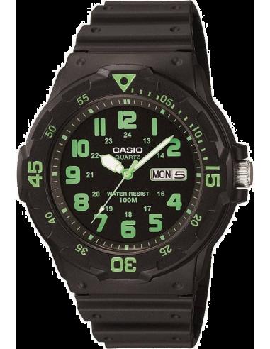 Chic Time | Montre Homme Casio Collection MRW-200H-3BVEF Noir  | Prix : 19,00€