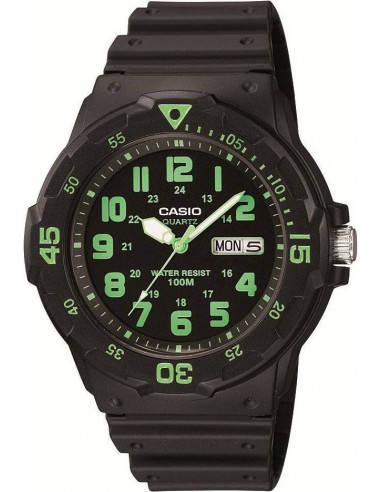 Chic Time   Montre Homme Casio Collection MRW-200H-3BVEF Noir    Prix : 19,00€