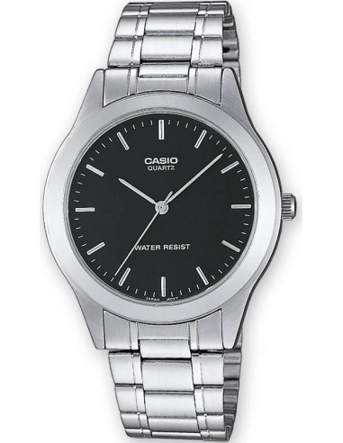 Chic Time | Montre Homme Casio Collection MTP-1128A-1AEF Argent  | Prix : 26,10€