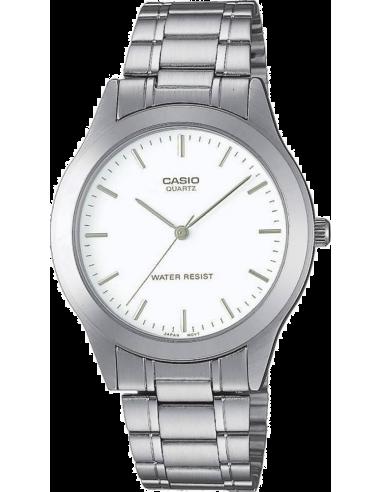 Chic Time | Montre Homme Casio Collection MTP-1128A-7AEF Bracelet Acier Inoxydable  | Prix : 28,00€
