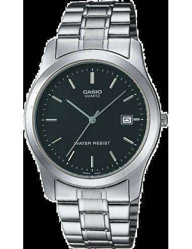 Chic Time | Montre Homme Casio Collection MTP-1141A-1AEF Bracelet Acier Inoxydable  | Prix : 35,00€