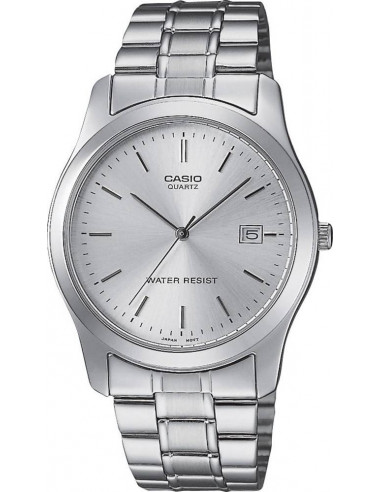 Chic Time | Montre Homme Casio Collection MTP-1141A-7AEF Bracelet Acier Inoxydable  | Prix : 38,00€