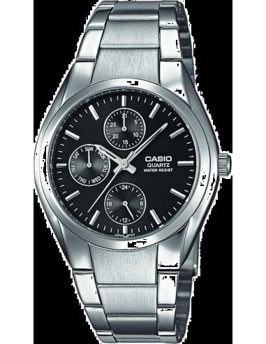 Chic Time | Montre Homme Casio Collection MTP-1191A-1AEF - Cadran noir  | Prix : 50,00€
