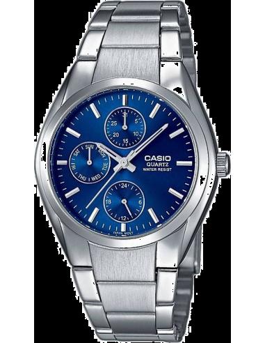 Chic Time | Montre Homme Casio Collection MTP-1191A-2AEF - Cadran bleu  | Prix : 42,50€