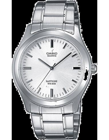 Chic Time | Montre Homme Casio Collection MTP-1200A-7AVEF Argent  | Prix : 55,00€