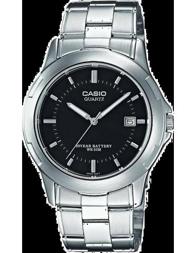 Chic Time | Montre Homme Casio Collection MTP-1219A-1AVEF Bracelet Acier Inoxydable  | Prix : 42,50€