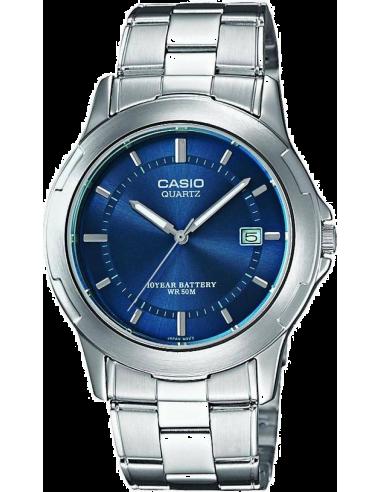 Chic Time   Montre Homme Casio Collection MTP-1219A-2AVEF - Cadran bleu    Prix : 42,50€