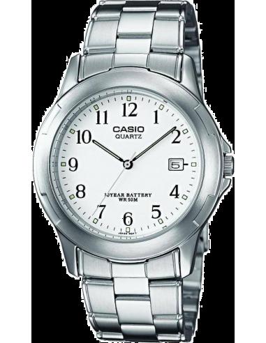Chic Time   Montre Homme Casio Collection MTP-1219A-7BVEF Bracelet Acier Inoxydable    Prix : 42,50€