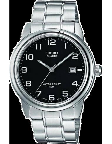 Chic Time | Montre Homme Casio Collection MTP-1221A-1AVEF - Bracelet Acier Inoxydable  | Prix : 34,00€