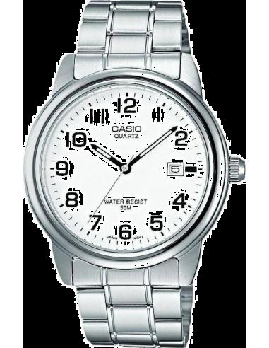 Chic Time | Montre Homme Casio Collection MTP-1221A-7BVEF Argent  | Prix : 35,00€