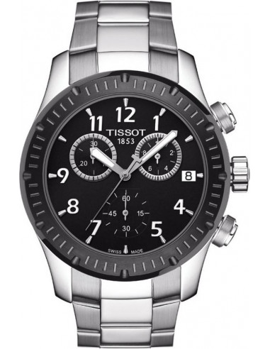 Chic Time   Montre Homme Tissot V8 T0394172105700    Prix : 395,00€