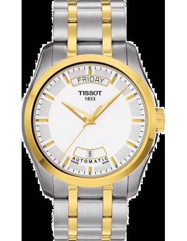 Chic Time | Montre Homme Tissot Couturier T0354072201100 Argent  | Prix : 710,00€