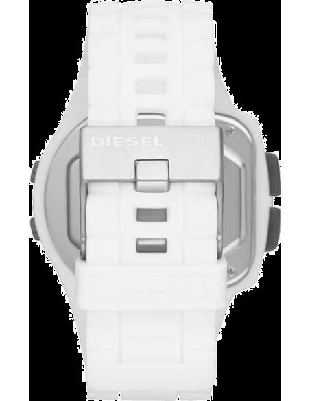 Chic Time | Montre Homme Diesel DZ7275 Viewfinder silicone blanc  | Prix : 129,00€