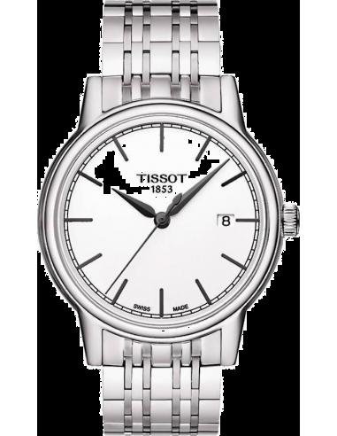 Chic Time   Montre Homme Tissot Carson T0854101101100 Bracelet Acier Inoxydable    Prix : 290,00€