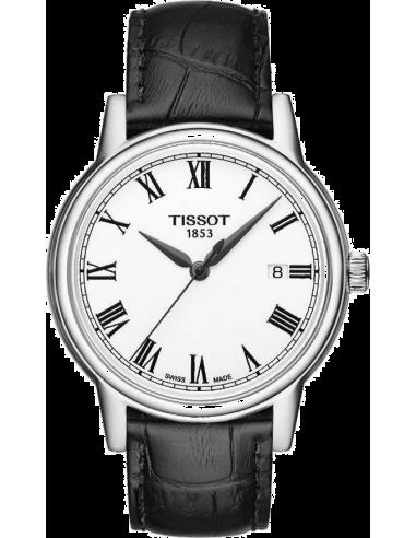 Chic Time | Montre Homme Tissot Carson T0854101601300 Bracelet Cuir Noir  | Prix : 260,00€